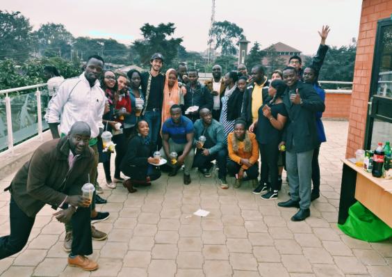 Romain Sion Carolina for Kibera Kenya