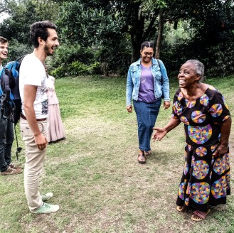 Freeda, First director at Nyaka