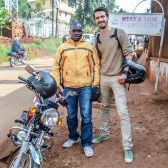 Romain Sion Yassine Kampala Uganda