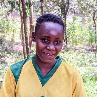 Belinda Professional Footballer Carolina For Kibera Kenya