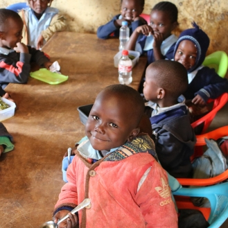 Children Lindi Kindergarten Kibera Kenya