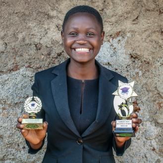 Immaculate Carolina for Kibera Kenya