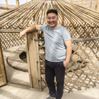 Odgerel Founder Eco Town Ulan Bator Mongolia