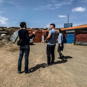 Odgerel EcoTown Romain Sion Mongolia