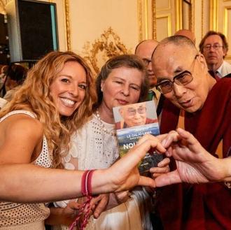 Cyrielle Hariel Dalai Lama