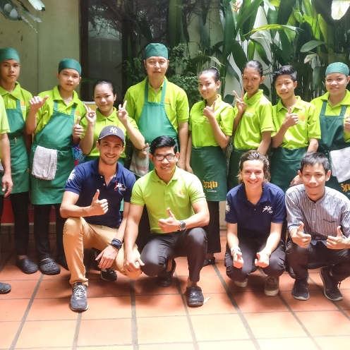 Romain Sion Friends International Cambodia 3