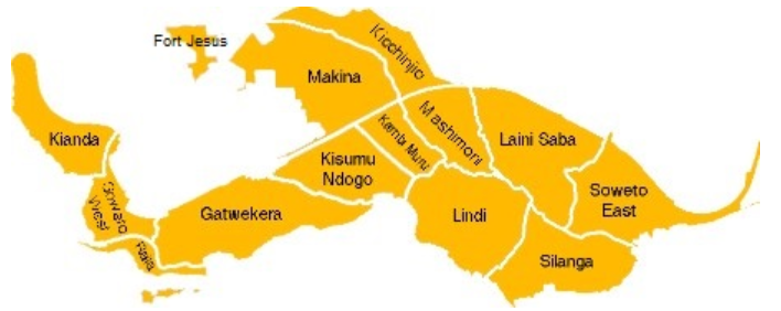 Kibera Map