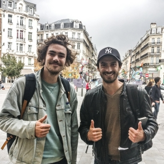 Romain Sion & Hubert Motte La Vie est Belt France