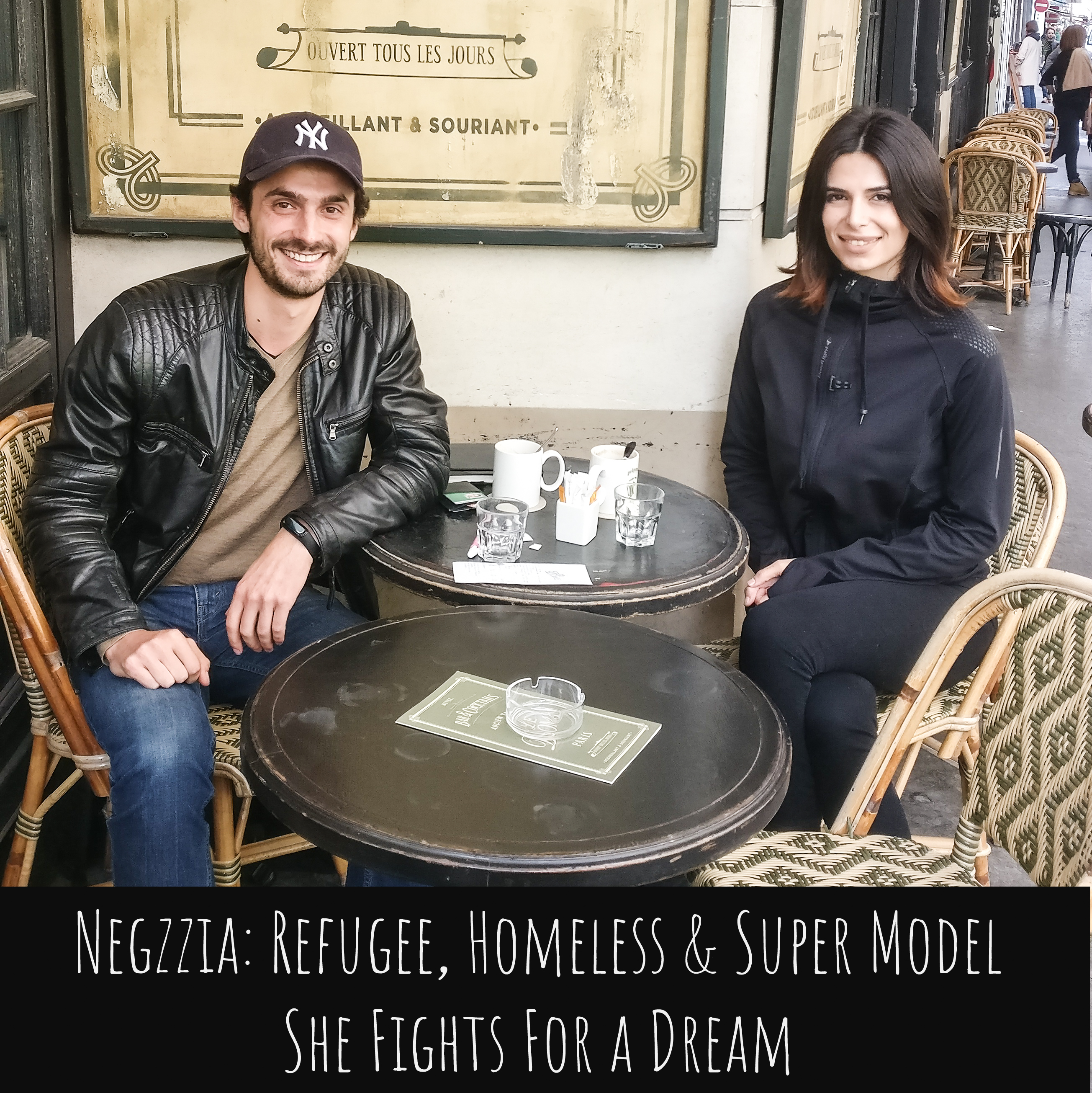 Negzzia, Refugee, Homeless and Super Model. She Fights For a Dream