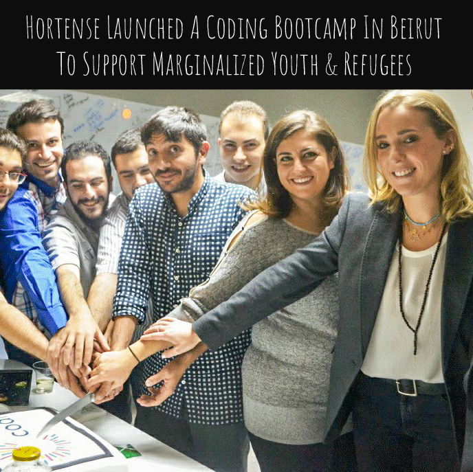 Hortense Launched A Coding Bootcamp in Beirut To Support Marginalized Youth & Refugees