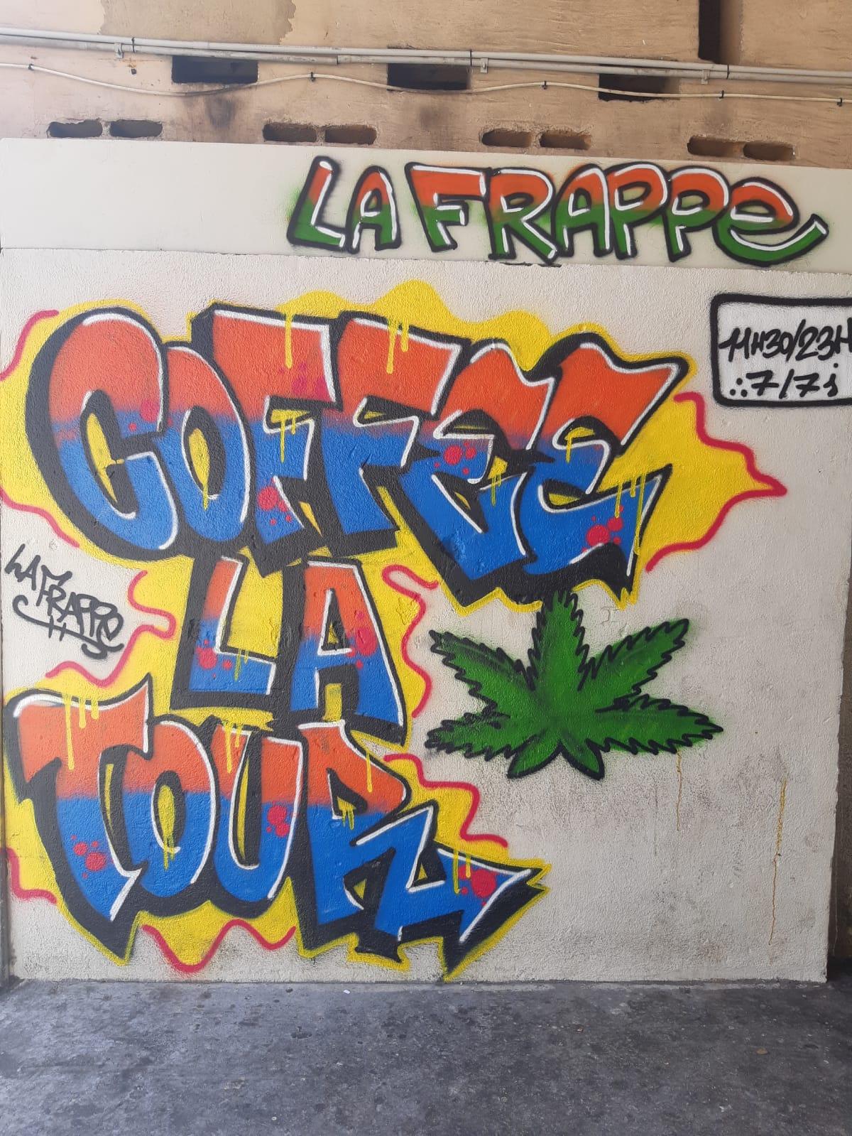 Devanture vente trafic de drogue Marseille