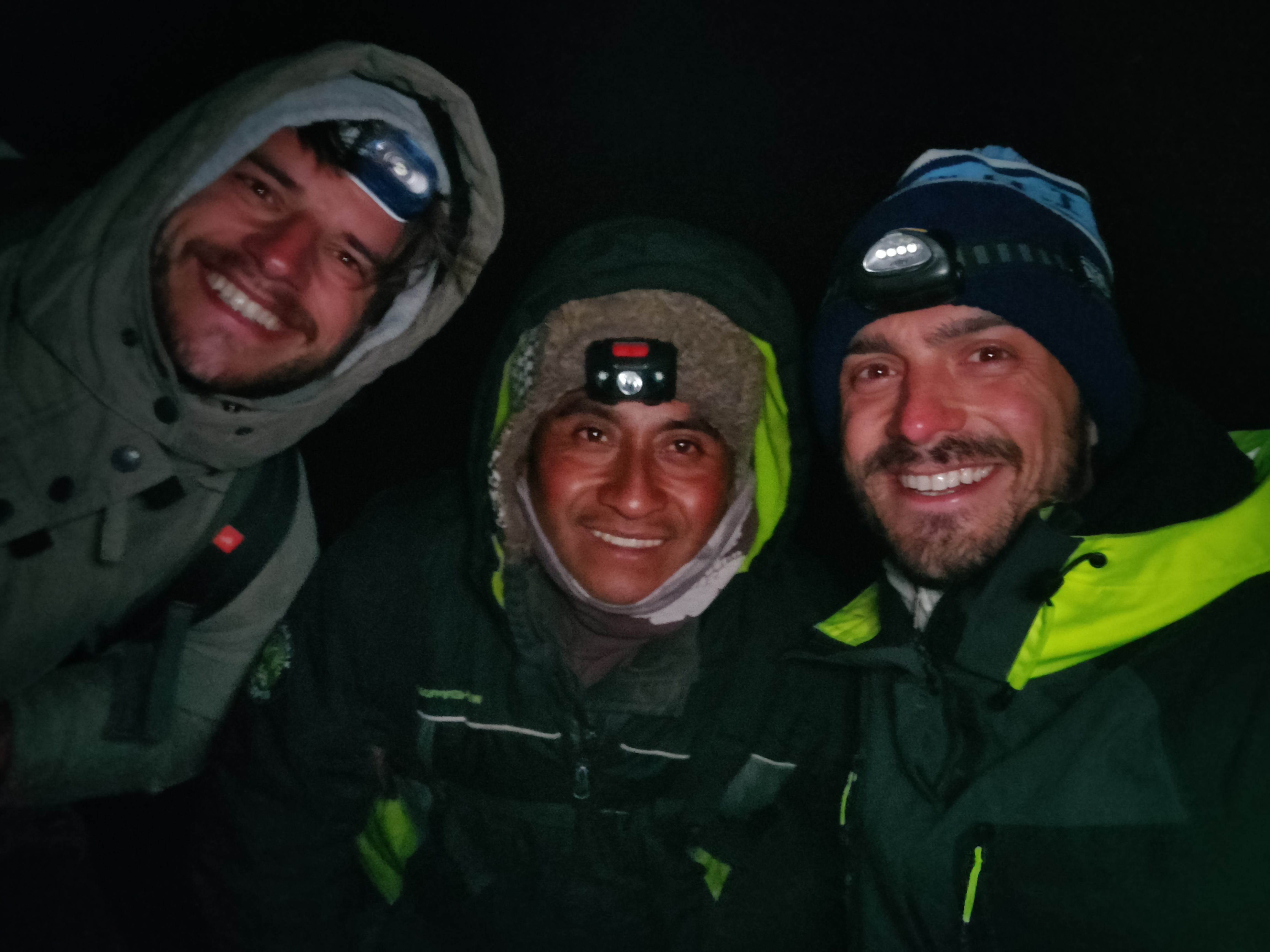 Fuego Trekking at night Romain Sion Guatemala