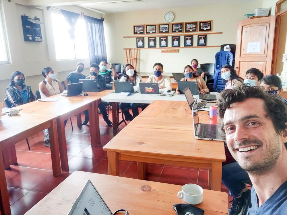 Training Session Romain Sion Los Amigos de Santa Cruz Guatemala