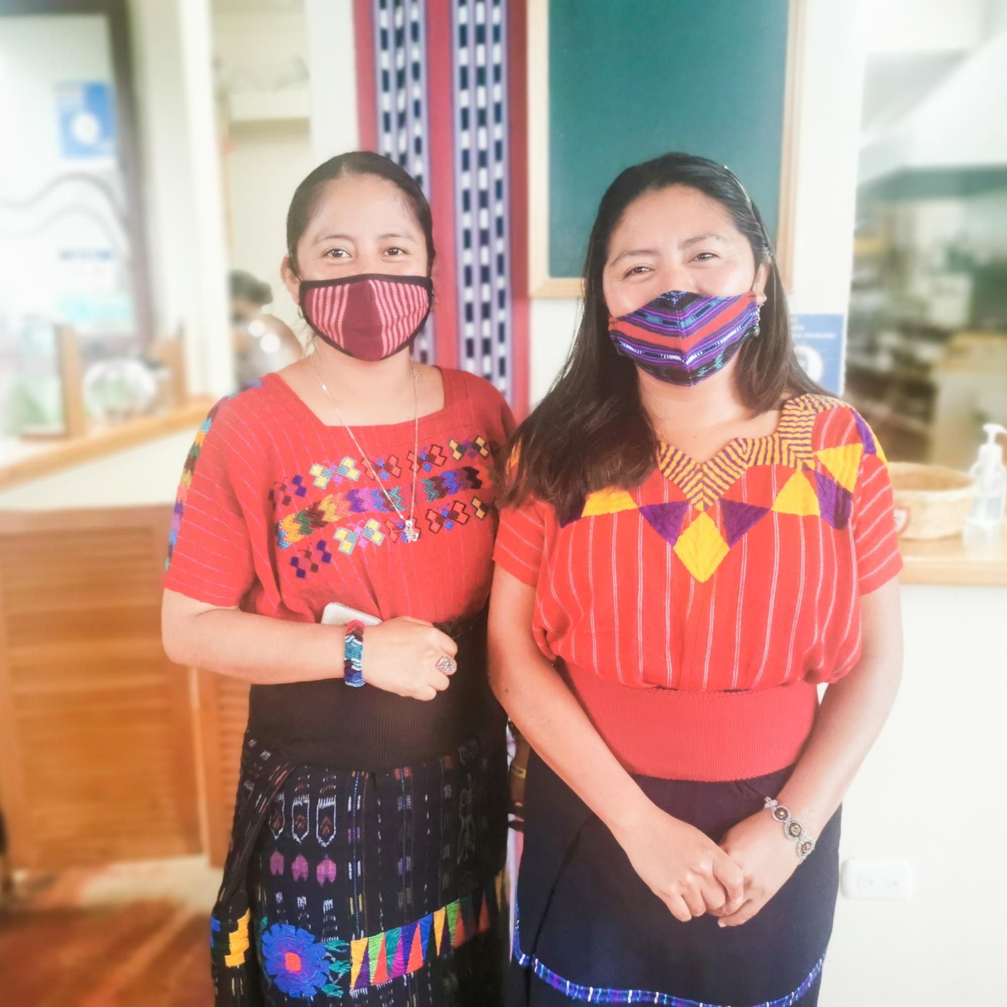 Estela and Rosalia Los Amigos de Santa Cruz Guatemala