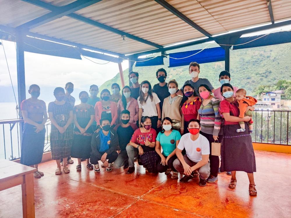 Farewell Los Amigos de Santa Cruz Romain Sion Guatemala